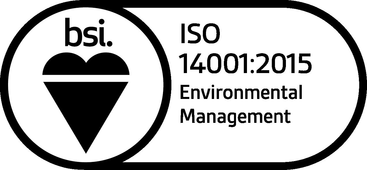 ISO 14001:2015 Environmental Management logo