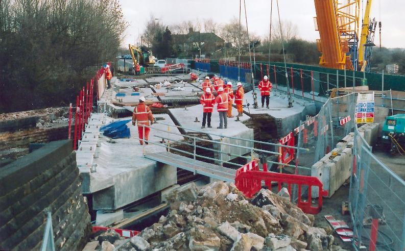 precast concrete bridge works